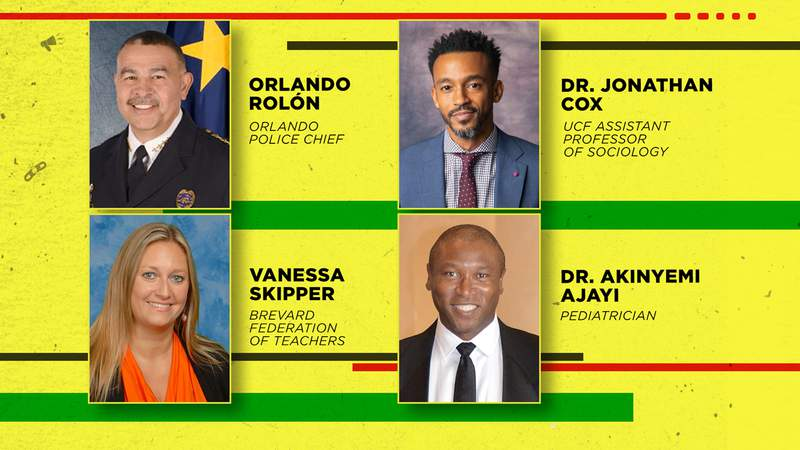 Meet the panelists for the Real Talk: What's Changed town hall