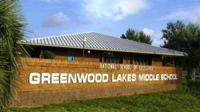Greenwood Lakes Middle School.