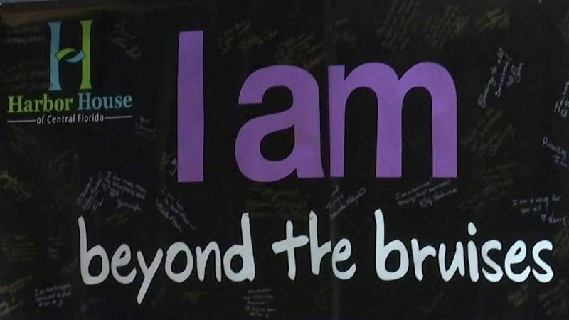 'It takes courage:' Domestic violence survivors encouraged to speak up