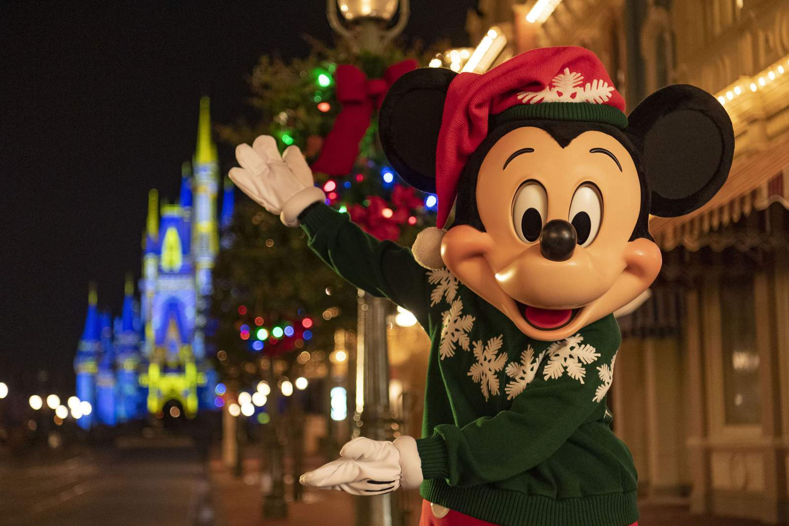 Disneyworld Christmas Vacation 2020 Deck the halls: Walt Disney World reimagines 2020 holiday celebration