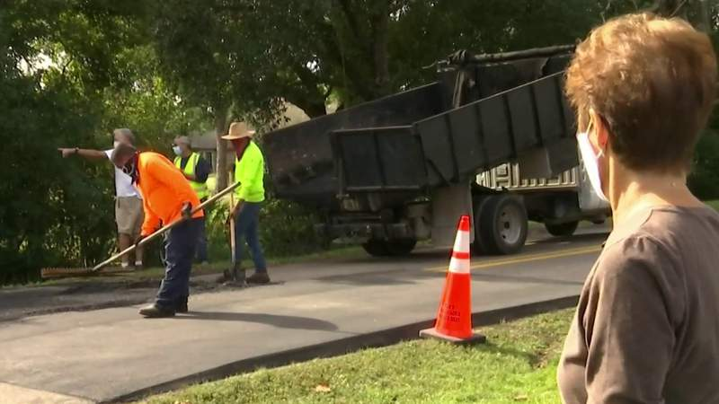 Speed hump installed along Minnesota Ave. after support from neighbors