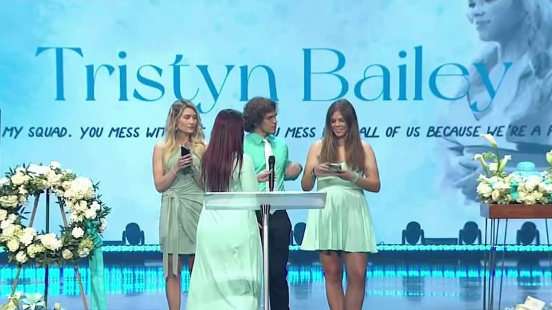 Community celebrates life of 13-year-old Tristyn Bailey