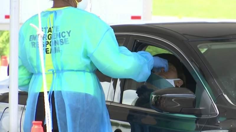 Palm Bay coronavirus test site works to reduce three-hour-long lines