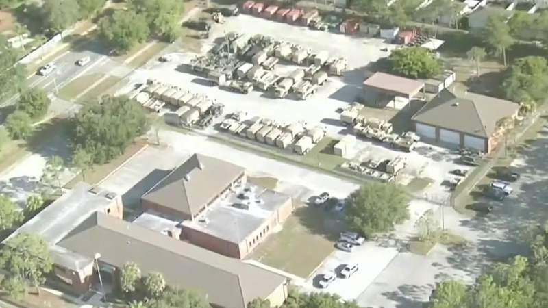 Man stabbed at US Army Reserve Center in Orlando; culprit sought