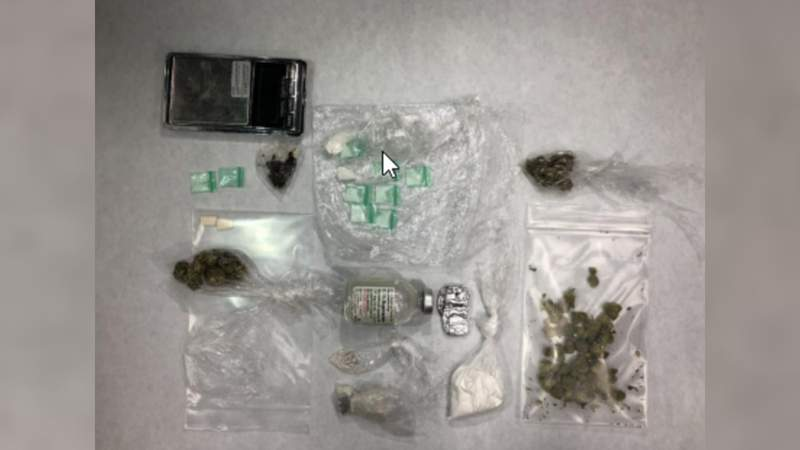 Melbourne police say they seized heroin and cocaine from a home.