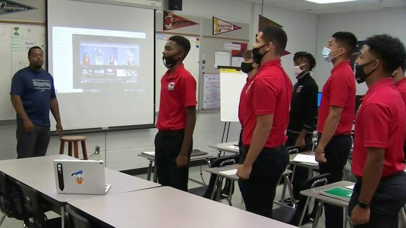 Lake Mary High's Young Men of Excellence prepares students to be future leaders