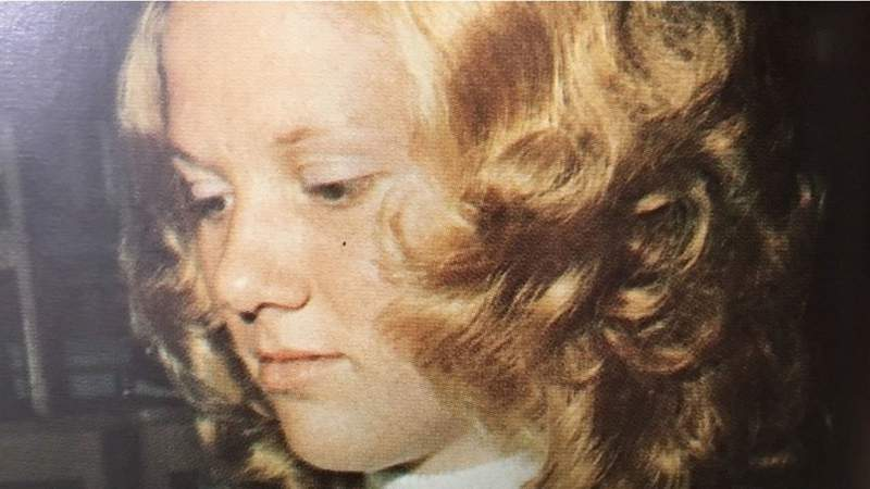 Donna Hedrick, at 15, in 1971.