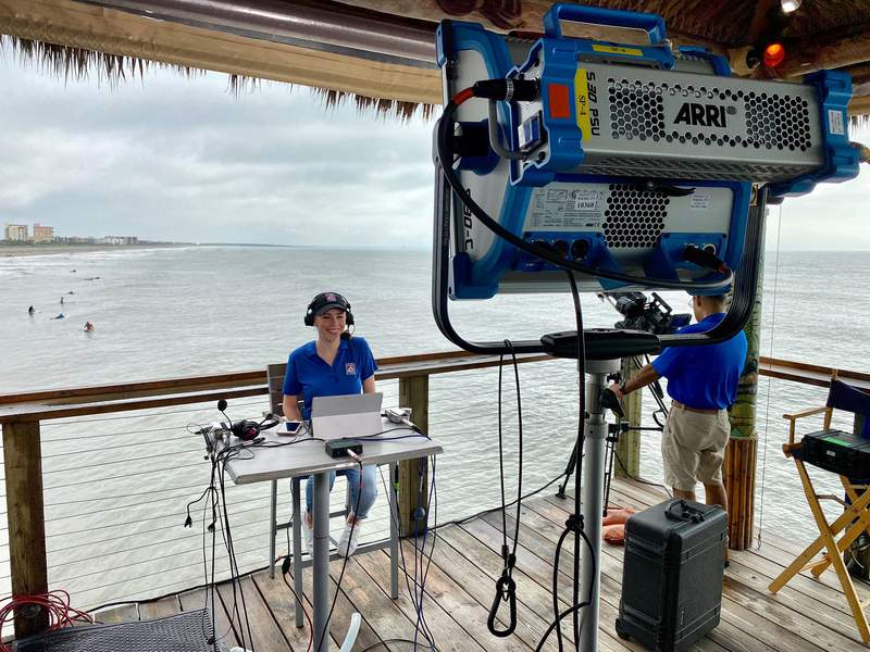 Candace Campos is live all day from the Westgate Cocoa Beach Pier.