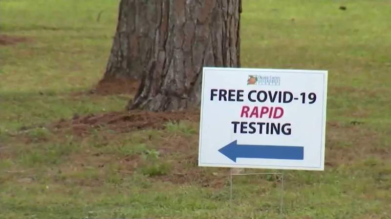Orange County COVID-19 testing site extends hours due to increased demand