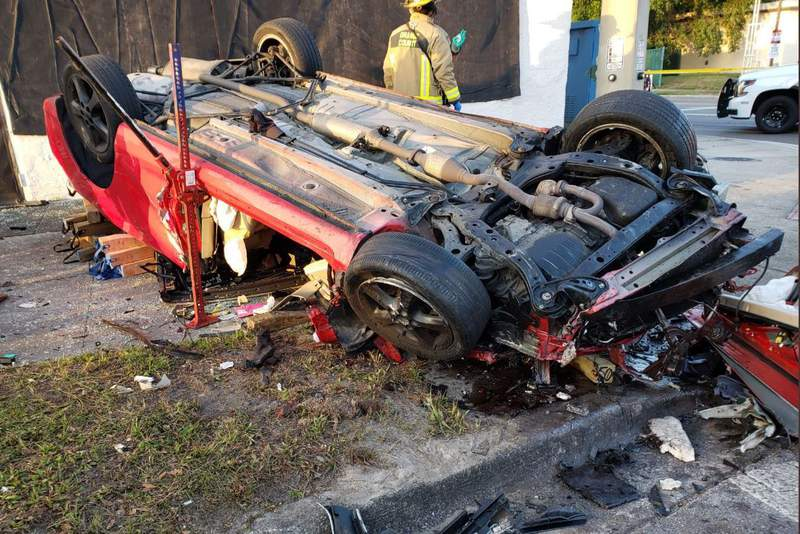A fatal crash is investigated at Curry Ford Road and Bumby Avenue in Orange County.
