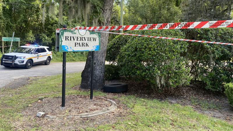 A pregnant victim was found dead Saturday morning in a Jacksonville park.