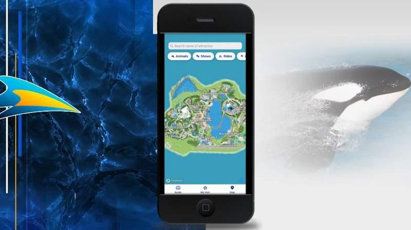 SeaWorld debuts new mobile app