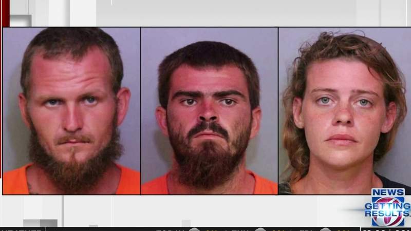 Pure evil: 3 arrested in triple slaying in Polk County