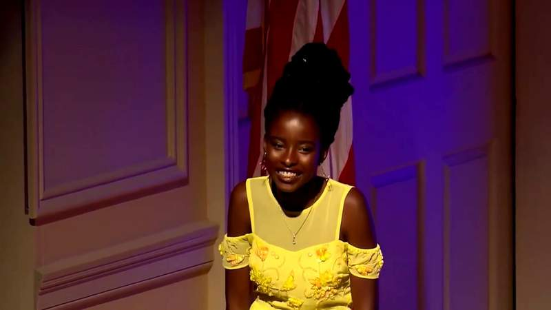 How the inaugural poet overcame her speech impediment