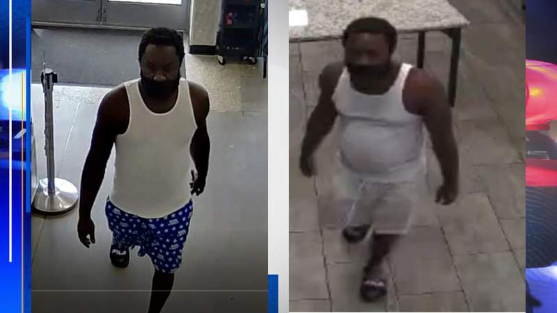 Police: surveillance photos of a man who flashed women on at least two occasions