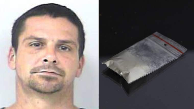 Police say Joseph Zak claimed wind blew cocaine into his car.