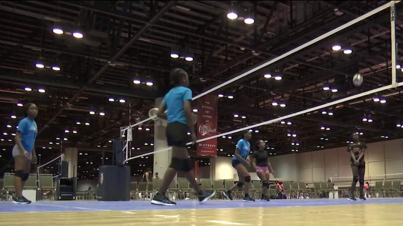 Volleyball tournament at Orange County Convention Center draws big business