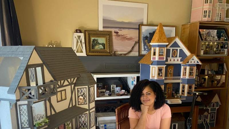Flip this dollhouse: Decorator develops chic hobby during pandemic