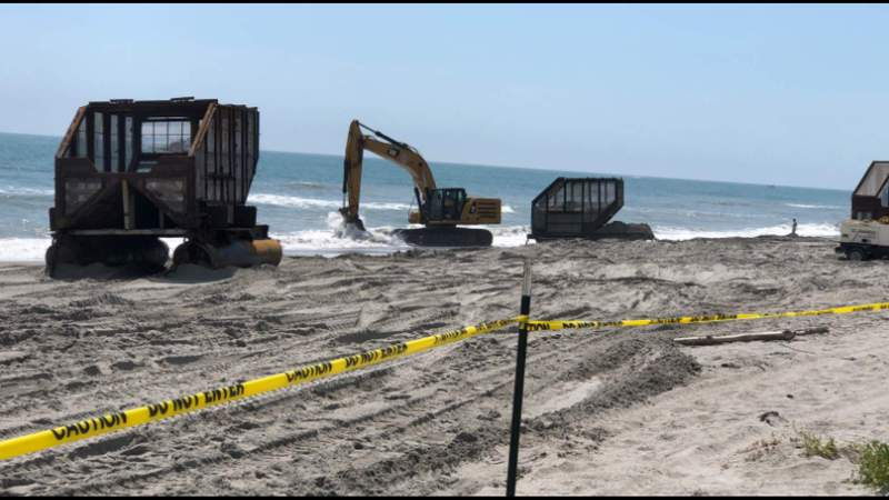 Tens of millions of dollars being spent to repeatedly rebuild Central Florida beaches