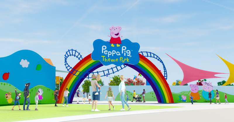 World's First Peppa Pig Theme Park, only at LEGOLAND Florida Resort