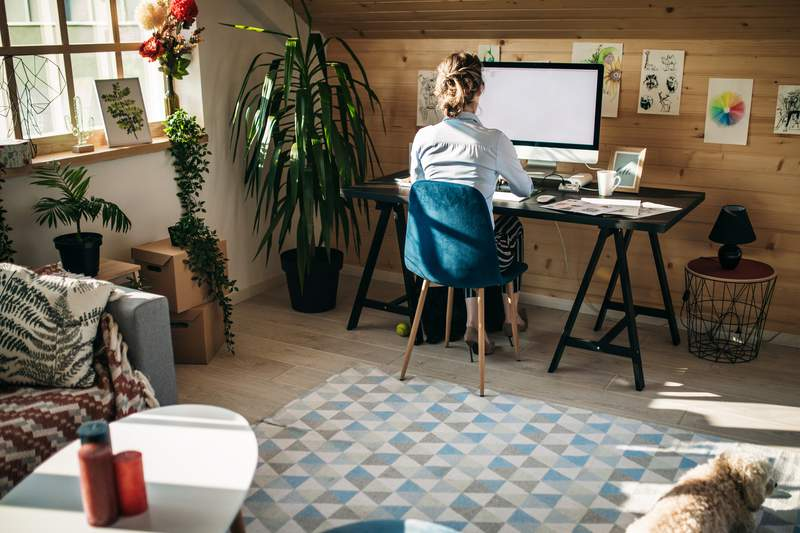 Houston CEO shares expert tips on how to work from home.
