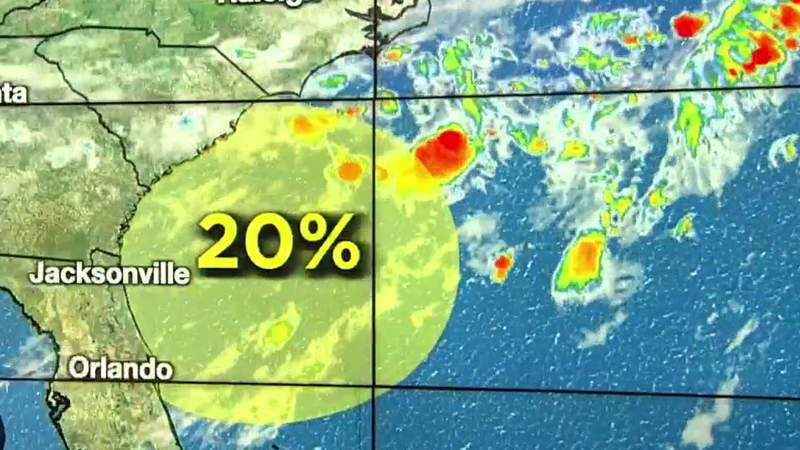 Area in tropics 'trying' to become more organized