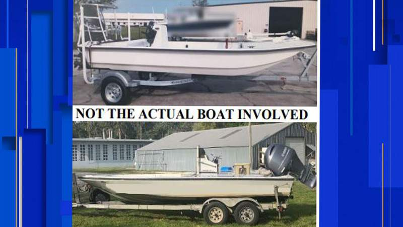FWC says these boats look similar to the one involved in a fatal hit-and-run crash on May 23.