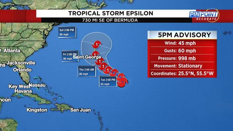 Tropical Storm Epsilon.