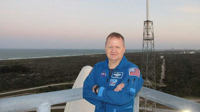 NASA astronaut Eric Boe, one of four astronauts working with the agency's Commercial Crew Program, checked out the Crew Access Tower at Space Launch Complex 41. (Photo: NASA)