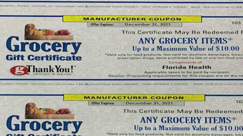 Seminole County looking to incentivize vaccinations with coupons, beer