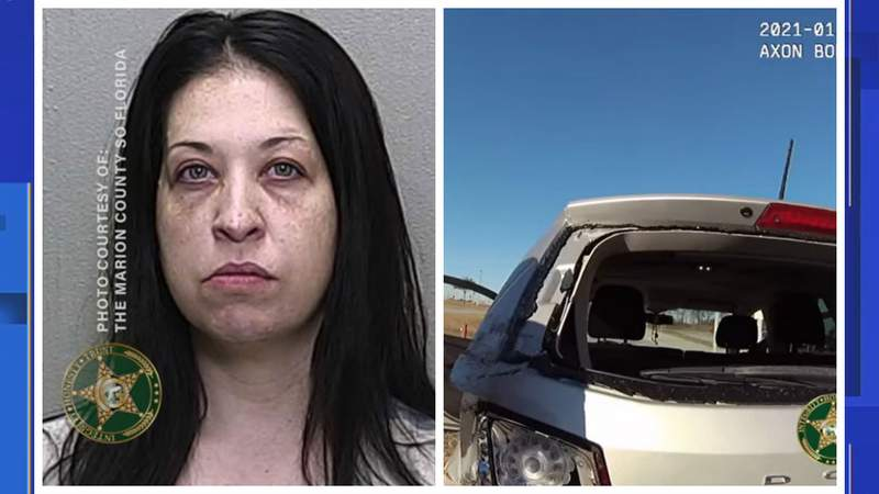 A mom was arrested for DUI at the drop-off line at Liberty Middle School in Ocala around 8 a.m. on Wednesday, according to the Marion County Sheriff's Office.