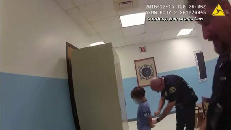 Video of Key West officers arresting child at elementary school causing outrage on social media