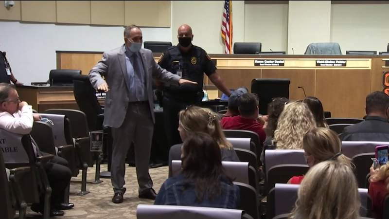 Heated board meeting over masks at Orange County Public Schools