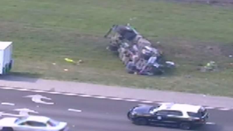Deadly crash on SR-528 in Orange County