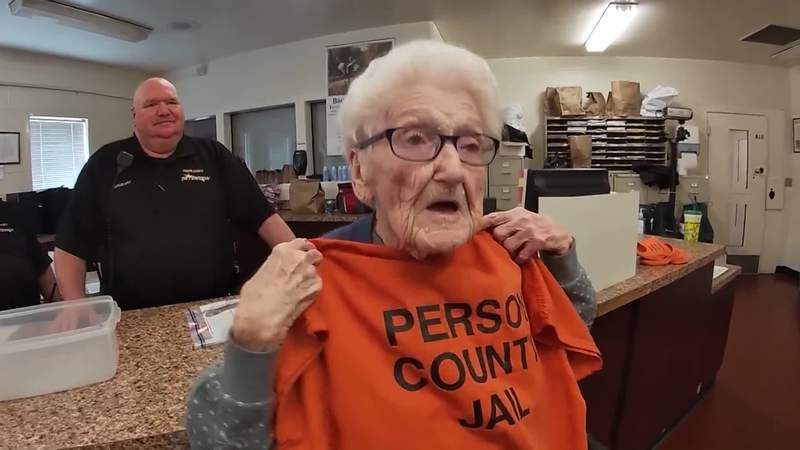 100-year-old woman wants to spend birthday in jail