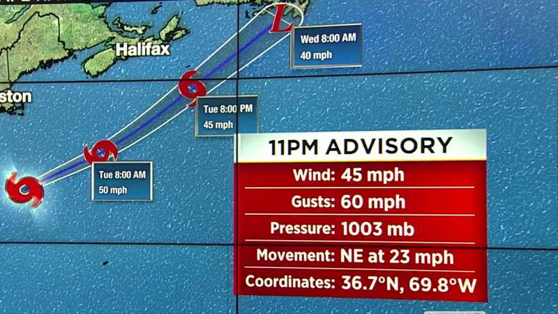 Tropical Storm Bill forms