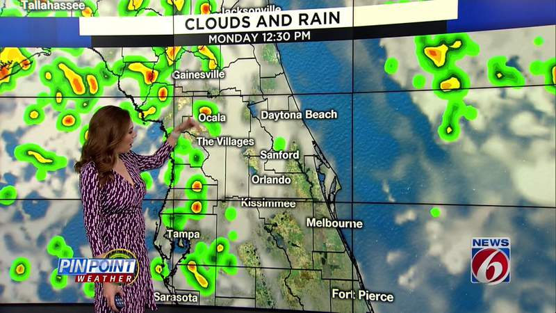 Stormy days continue in Central Florida
