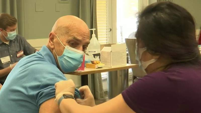 Residents, employees of Melbourne senior-living community get COVID-19 vaccine