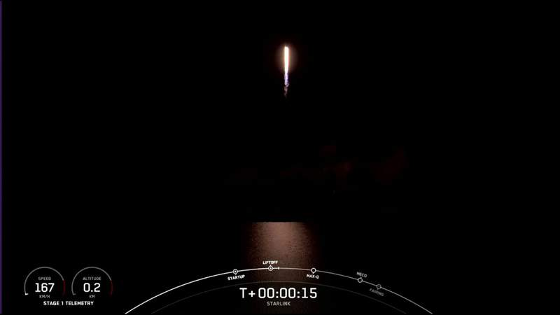 SpaceX kicks off Mother's Day with Starlink launch