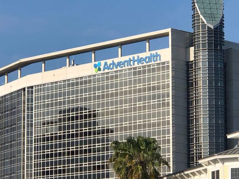 Advent Health's hospital in Orlando.