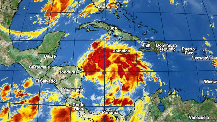 Tropical Depression 14.
