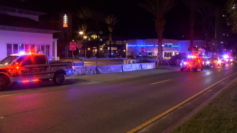 A man was rushed to the hospital after a stabbing on International Drive, according to the Orange County Sheriff's Office.
