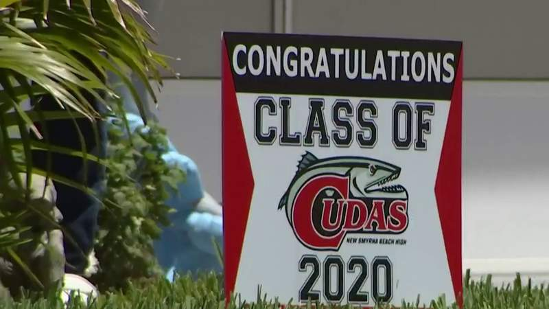 Grandmother says she was told to take down graduation yard sign