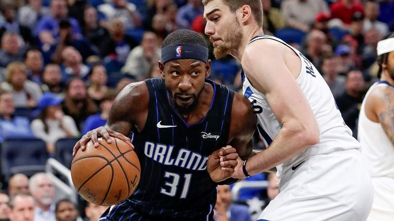 Orlando Magic guard Terrence Ross scored 33 points against Minnesota.