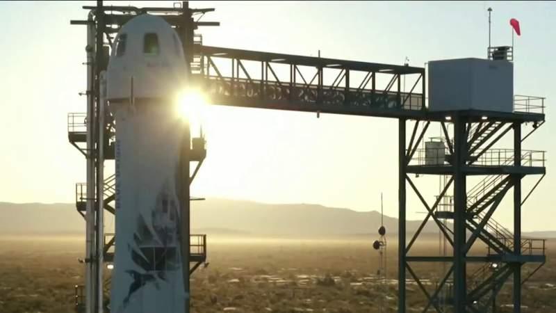 Highest bid for Blue Origin flight tops $2 million