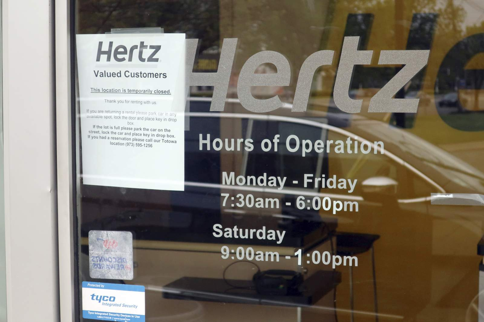 Debt and coronavirus push Hertz into bankruptcy protection - WKMG News 6 & ClickOrlando