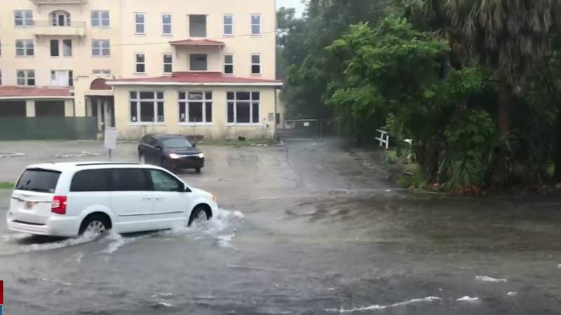 Flooding in Volusia leads to road closures