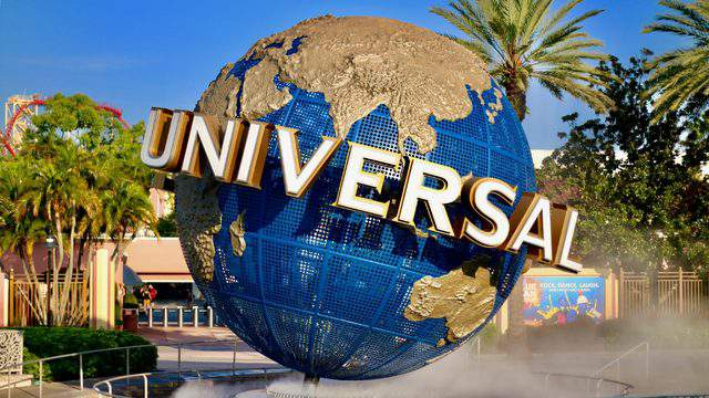 NEW Universal Studios Parks Universal Studios 3D Logo Pin