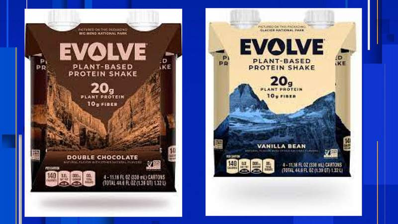 Packing for Evolve Protein Shakes