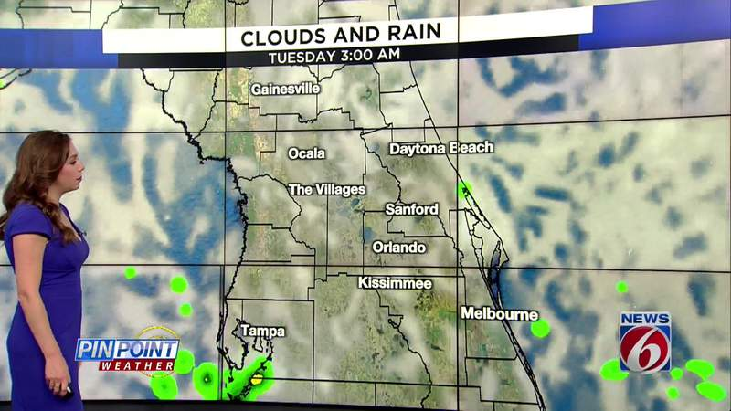 No rain expected this week in Central Florida